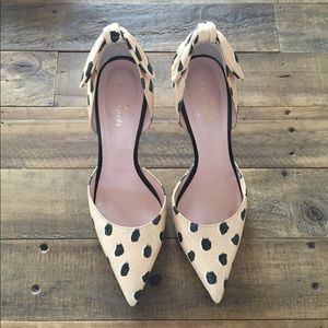 Kate Spade Spotted Heel