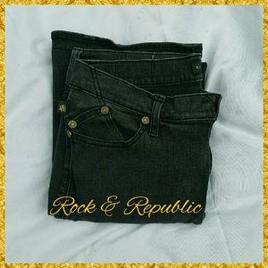 ROCK & REPUBLIC JEANS, SIZE 10
