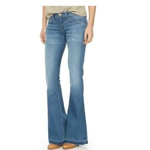 NWT Current Elliott The Low Bell Flare Jeans 31