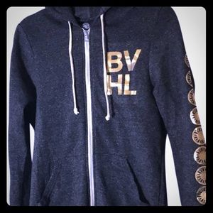 SoulCycle BVHL zip up hoodie