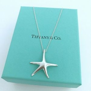 Tiffany & Co Peretti Starfish Necklace