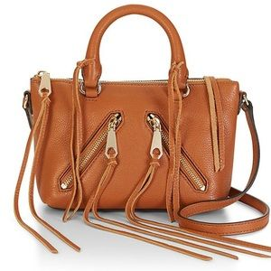 NEW Authentic Rebecca Minkoff micro moto satchel
