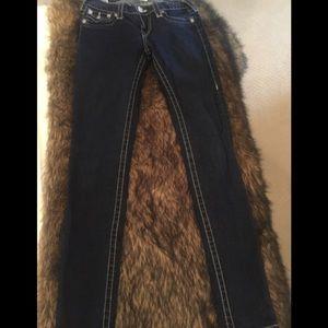 """True Religion """"Misty"""" Size 27 Skinny Jeans"""