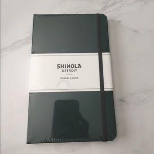 Brand New Shinola Detroit Dark Green Notebook