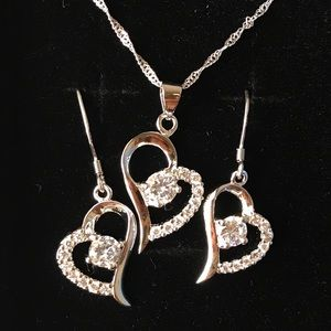 YOU are the only one in my heart necklace set