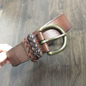 Abercrombie &a Fitch leather belt