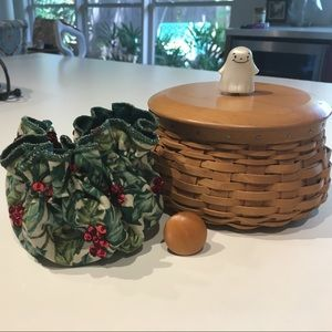 Longaberger holiday (or not) interchangeable bask