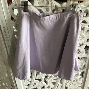 American Apparel purple jean skirt