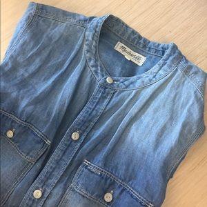 Denim Madewell Shirt ✨