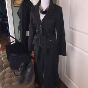 Pinstripe Capri professional suit