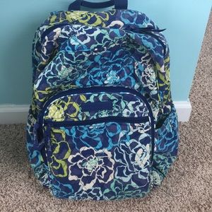 Katalina Blues Vera Bradley Campus Backpack