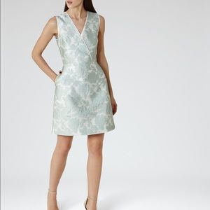 Reiss Tate Fit And Flare Dress