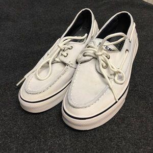 White sperrys