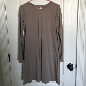 American apparel t shirt dress