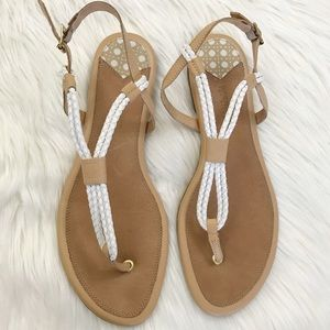 Sperry Top-Sider 'Lacie' white rope Sandal