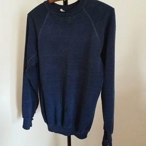 1980S thin, like silk Vintage sweatshirt