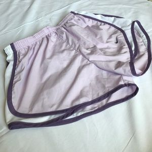 Nike Fit Dry Running Shorts Purple Women's Size S