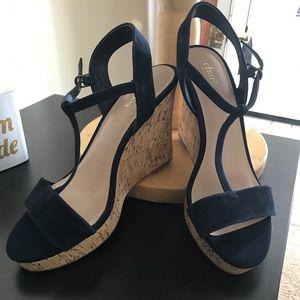 Deep Navy Blue heels by Charles David