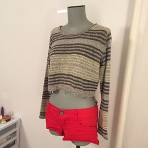 Urban outfitters crop top sweater