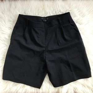 THEORY Wool Navy blue shorts
