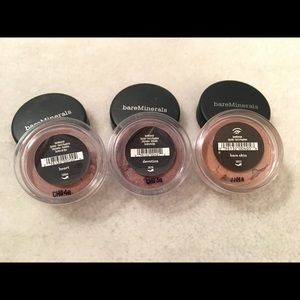 Bare Minerals 3pc eyeshadow bundle - NEW