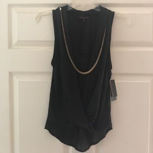 Black blouse brand new with tags