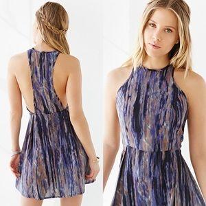 Ecote High Neck Dress