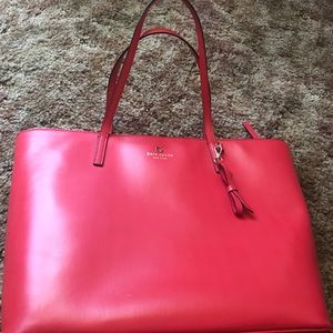 Kate Spade large red tote