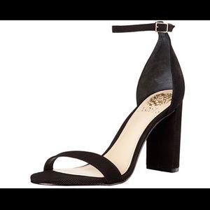 Vince Camino black strappy heels- 8