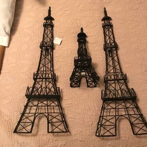 Other - Metal Eiffel Tower home decor