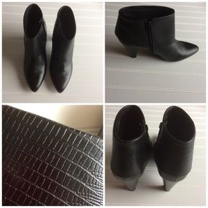 GNW Viola Black Ankle Boots