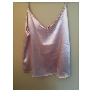 Forever 21 Pink Tank Top size small NWT