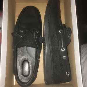 Black Sperrys