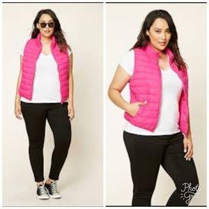 Forever 21 Pink Vest