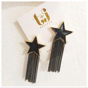 Star Tassels Earrings