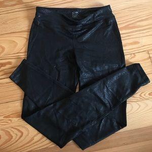 Black champion duodry athletic leggings