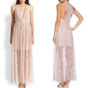 Alice+Olivia Julissa lace gown