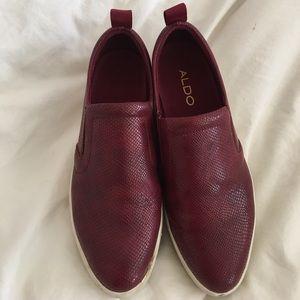 Aldo platform sneakers
