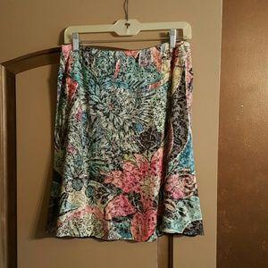 Hot mama reversible a line skirt