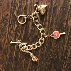 Juicy Couture Charm Bracelet with added charms