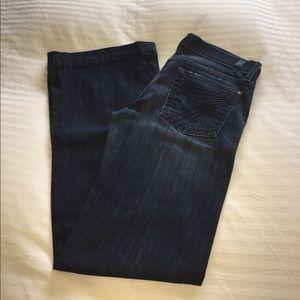 """7 for all mankind """"dojo"""" jeans, hemmed"""