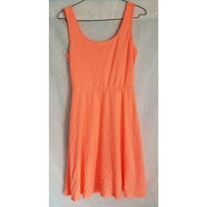 Mossimo Neon Orange Mini Dress