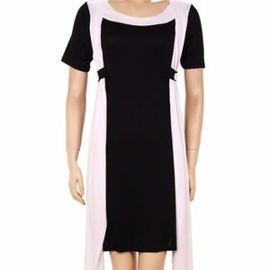 NEW SHORT SLEEVE DRESS WITH WRAP DETAIL