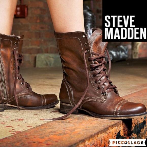 c78cd135479 🍂Steve Madden Troopa Boot  Brown  7. M 59c173c8620ff766e3020969
