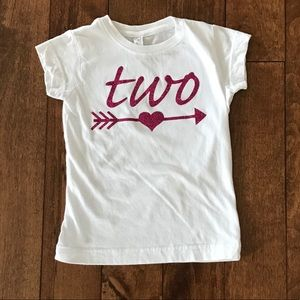 Other - 2nd birthday tee