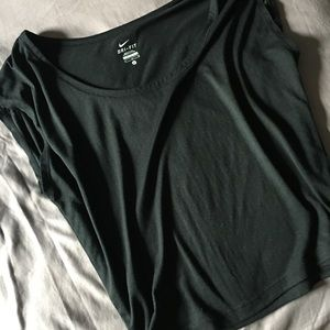 Dri-fit Nike scoop neck work out top