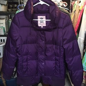 Juicy Couture down jacket.