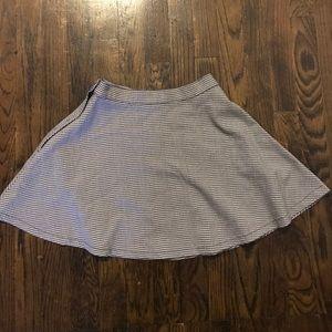 American Apparel Plaid Skater Skirt
