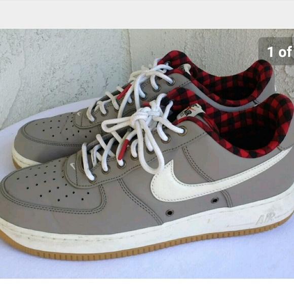 Nike Shoes | Nike Air Force Mens Plaid