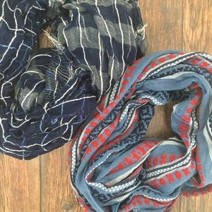 Accessories - Infinity Scarves - Blue Bundle